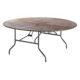 Rundt bord Ø 180 cm.