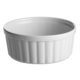 Souffleskål stor - hvid
