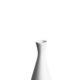 Vase til 1 stilk 14 cm. - hvid