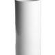 Vase 24 cm. - hvid